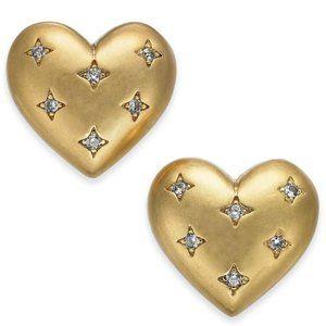 NEW Kate Spade My Precious Heart Stud Earrings